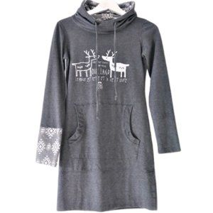 Message Factory hoodie tunic QC designer